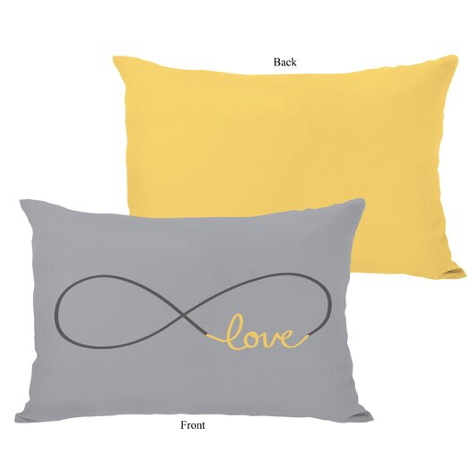 One Bella Casa Infinite Love Lumbar Pillow