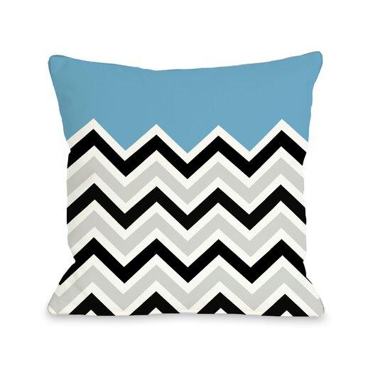 One Bella Casa Chevron Pillow