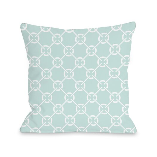 One Bella Casa Cecile's Circles Pillow
