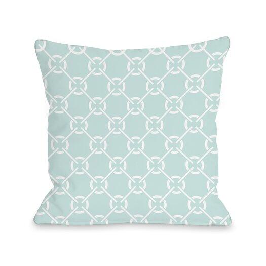One Bella Casa Cecile's Circles Pillow