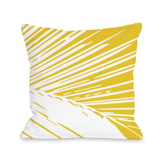 One Bella Casa Alaiya Palm Leaves Pillow