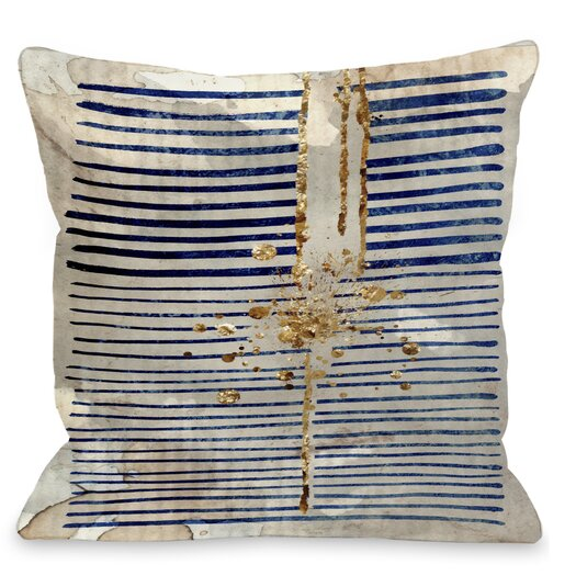 One Bella Casa Love Force Field Throw Pillow