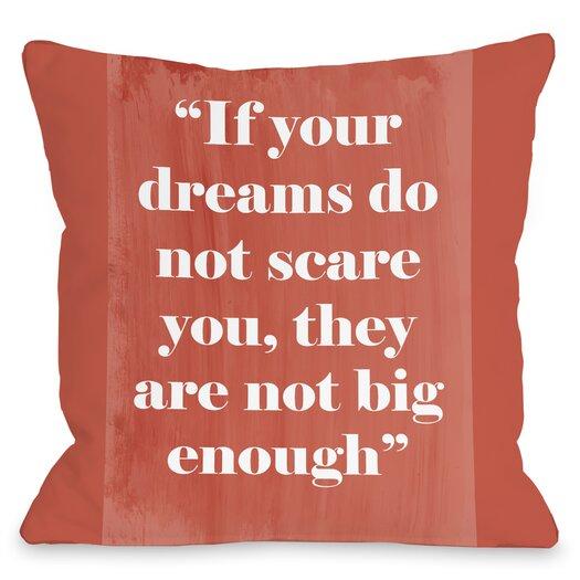 One Bella Casa Big Enough Pillow