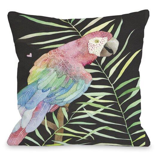 One Bella Casa Parrot Pillow