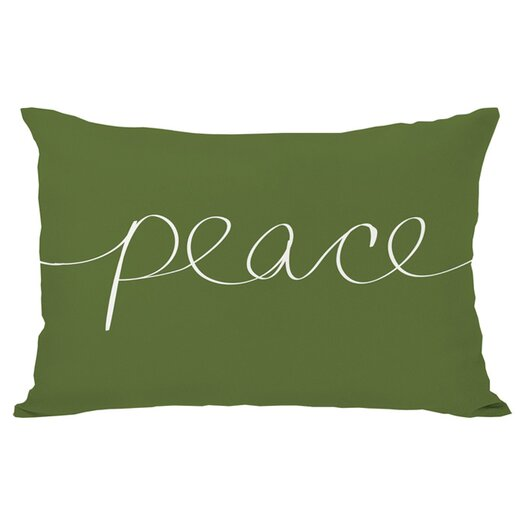 One Bella Casa Holiday Peace Mix and Match Pillow