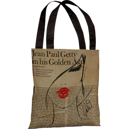 One Bella Casa Oliver Gal Fashionista Tote Bag