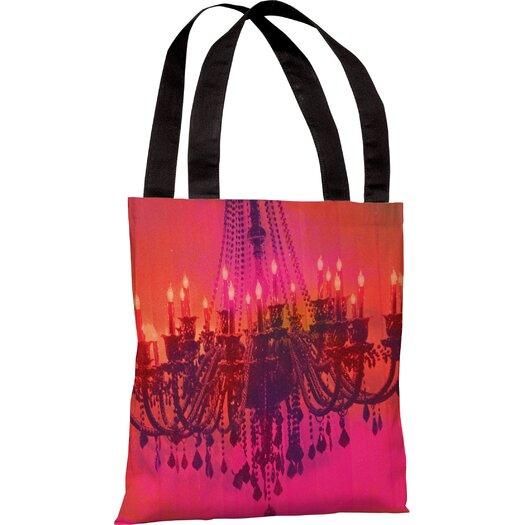 One Bella Casa Oliver Gal Light Me Up Tote Bag