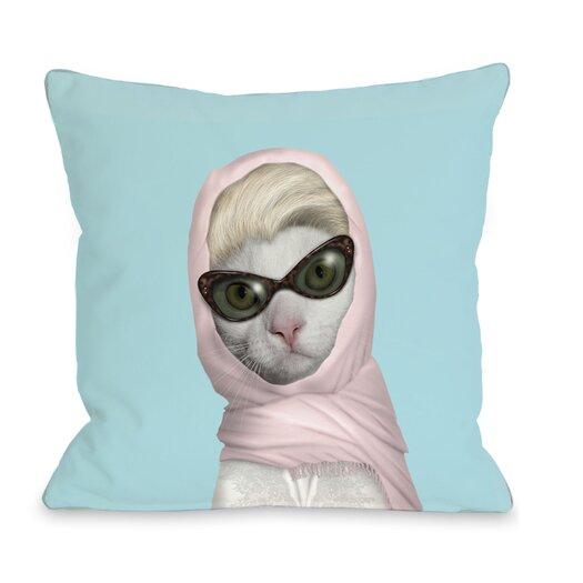 One Bella Casa Pets Rock Princess Pillow