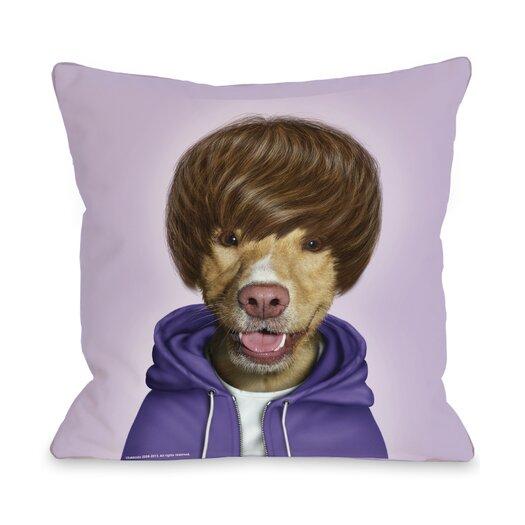 One Bella Casa Pets Rock Teen Pillow