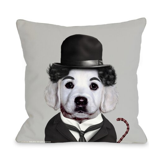 One Bella Casa Pets Rock Tramp Pillow