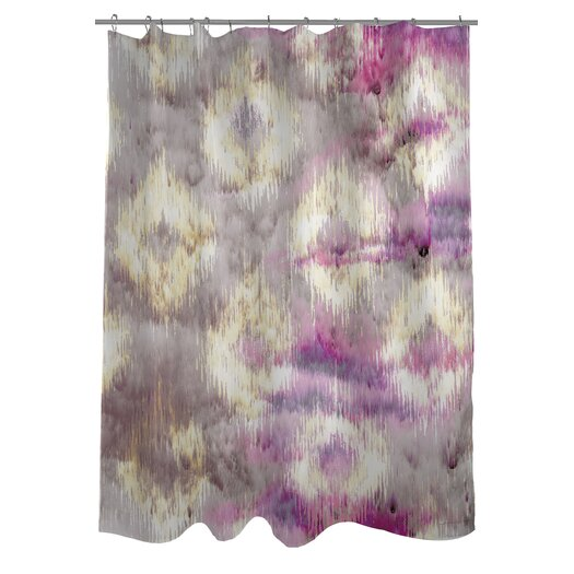 One Bella Casa Oliver Gal Altaria Polyester Shower Curtain