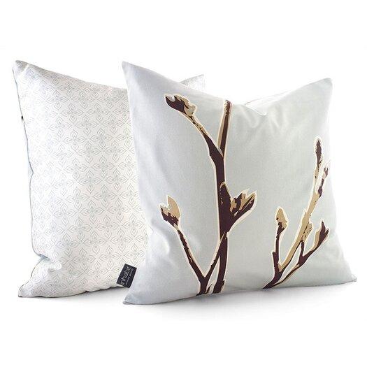 Inhabit Botanicals Axis Suede Throw Pillow