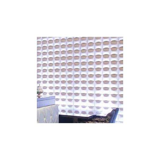 Inhabit Wall Flats Blueprint Geometric Embossed Wallpaper Tiles