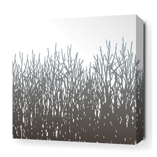 Inhabit Madera Field Grass Stretched Graphic Art on Canvas