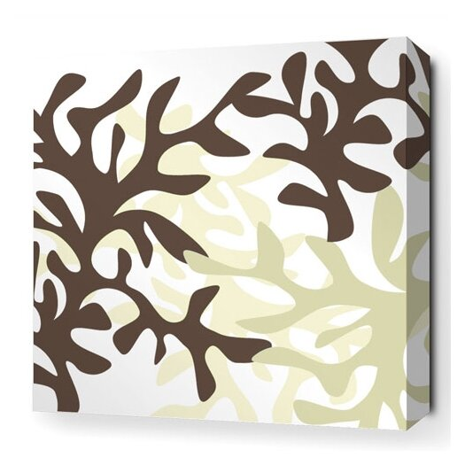 Inhabit Spa Reef Stretched Graphic Art on Canvas