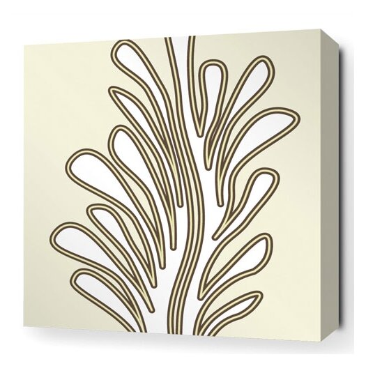 Inhabit Spa Seagrass Stretched Graphic Art on Canvas