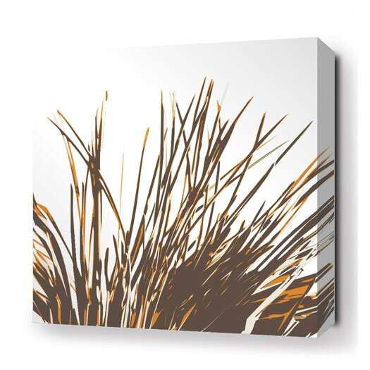Inhabit Botanicals Thatch Stretched Graphic Art on Canvas