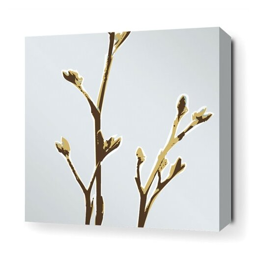 Inhabit Botanicals Axis Stretched Graphic Art on Canvas