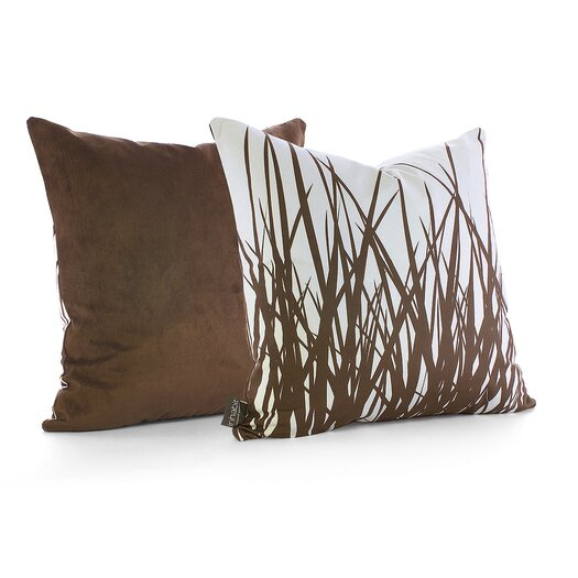 Soak Suede Throw Pillow
