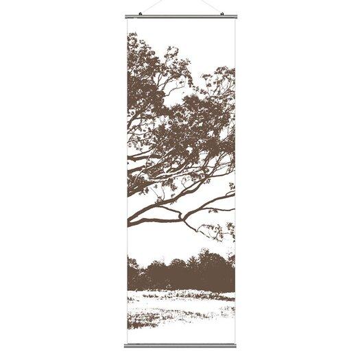 Inhabit Morning Glory Tree 3 Slat Wall Hanging