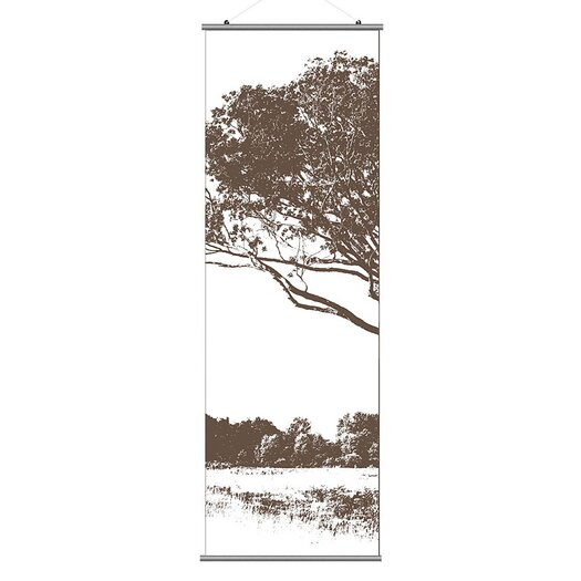 Inhabit Morning Glory Tree 1 Slat Wall Hanging