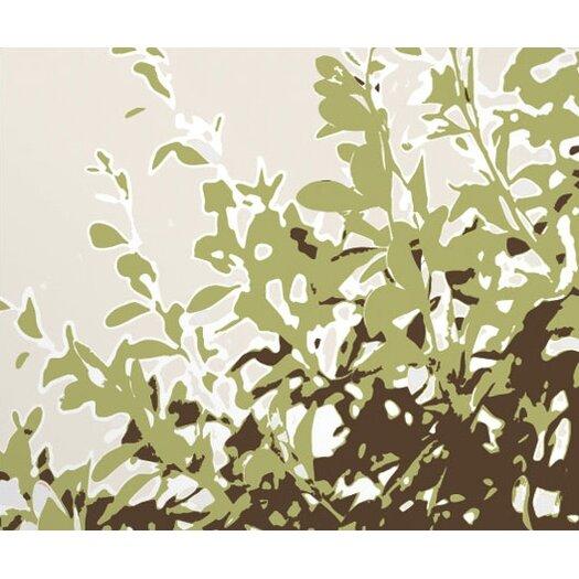 Inhabit Botanicals Foliage Stretched Graphic Art on Canvas