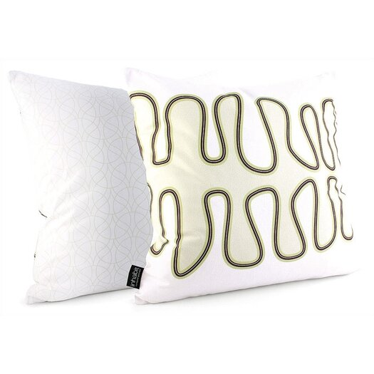 Inhabit Spa Kelp Throw Pillow