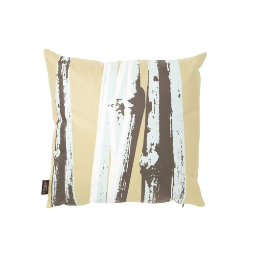 Botanicals Bamboo Suede Throw Pillow