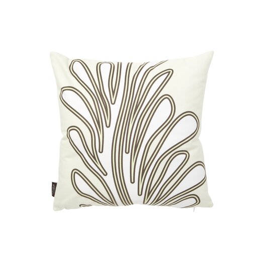 Spa Seagrass Suede Throw Pillow