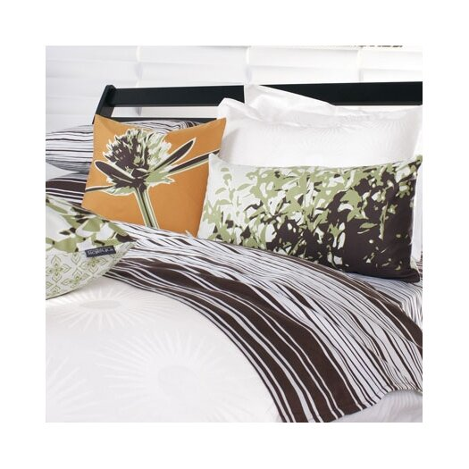 Inhabit Estrella Damask Woven Duvet Cover Collection