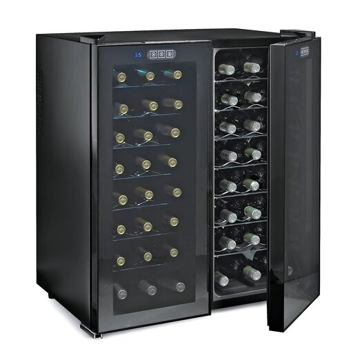 Wine Enthusiast 48 Bottle Dual Zone Thermoelectric Wine Cooler