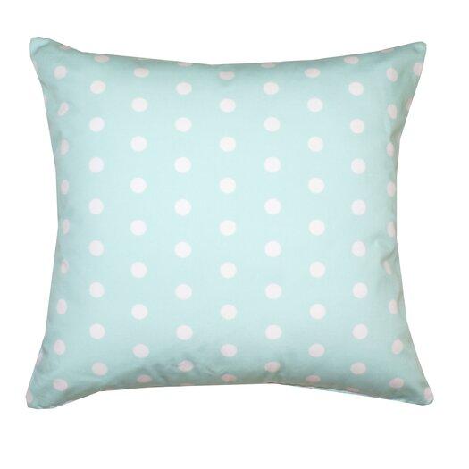 Divine Designs Ella Polka Dots Poly Cotton Pillow