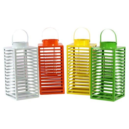 Urban Trends Metal Lantern Set of Four
