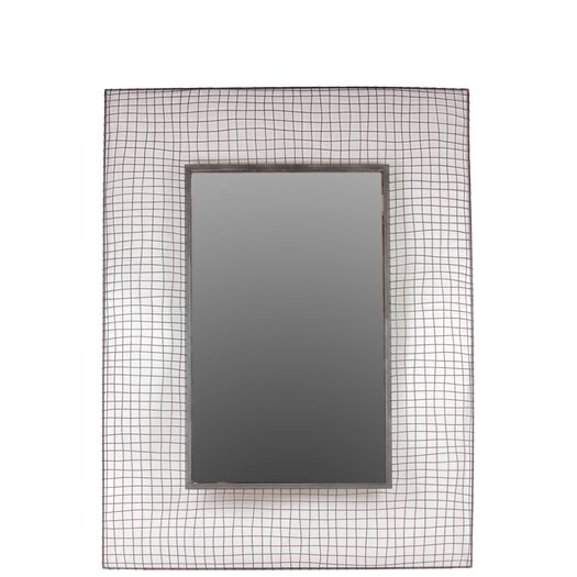 Urban Trends Home and Garden Accents Rectangle Mirror