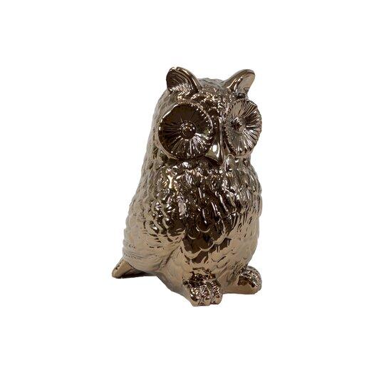 Urban Trends Ceramic Owl IV Figurine