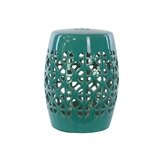 Urban Trends Ceramic Garden Stool II