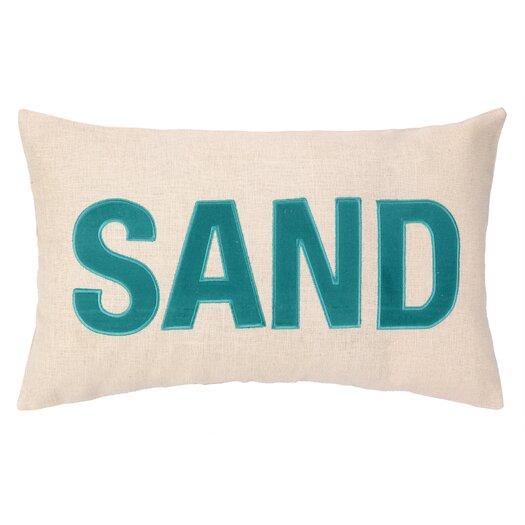 Peking Handicraft Nautical Applique Sand Pillow