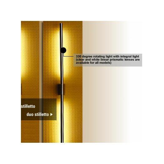 LumenArt Stilletto Duo 2 Light Wall Sconce