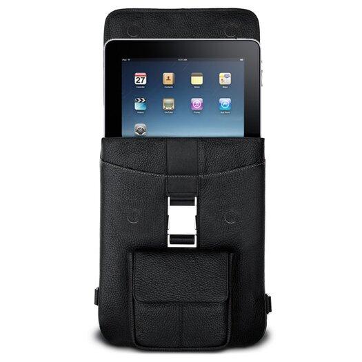 MacCase Premium Leather iPad Flight Jacket in Black