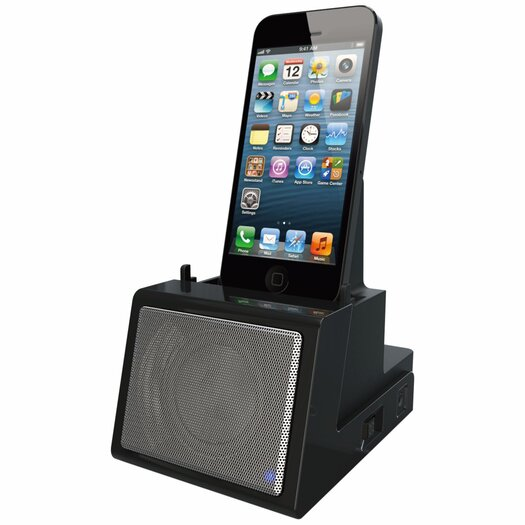 DOK Portable Universal Cradle with Bluetooth Speaker System