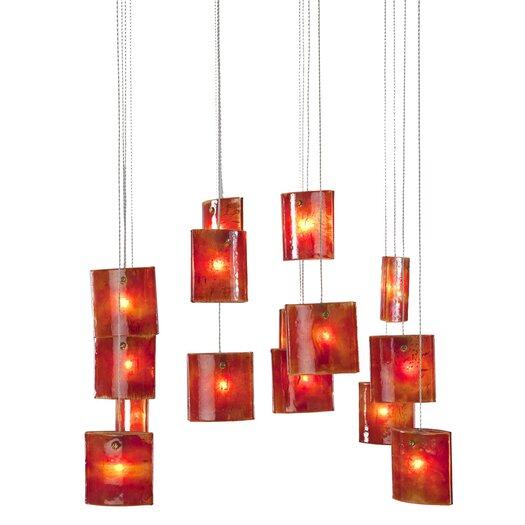 Light In Art by Shimal'e Peleg Tulip 16 Light Chandelier