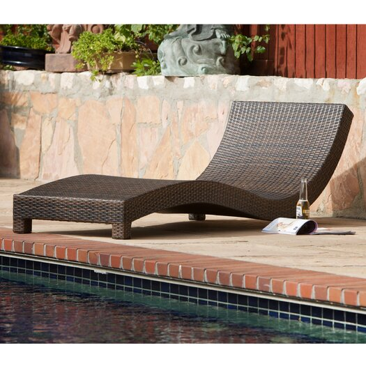 Home Loft Concept Vallarta Wicker Lounge Chair