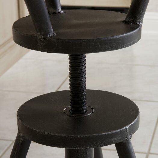 Home Loft Concept Forston Iron Top Adjustable Barstool