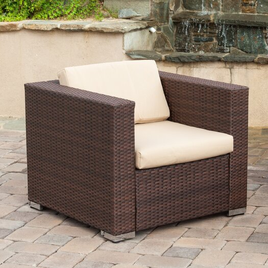 Home Loft Concept Asante 4 Piece Deep Seating Group with Cushions