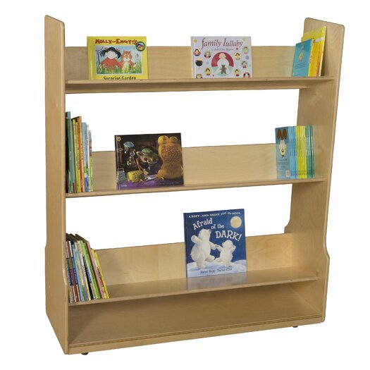 Wood Designs Book Display Cart