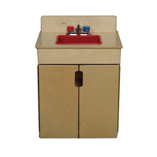 Wood Designs Tip-Me-Not Sink