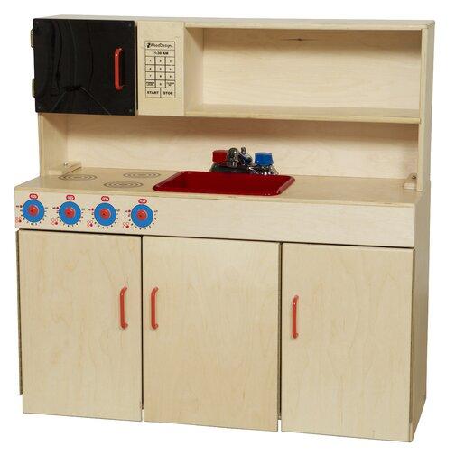 Wood Designs 5-in-1 Kitchen Center