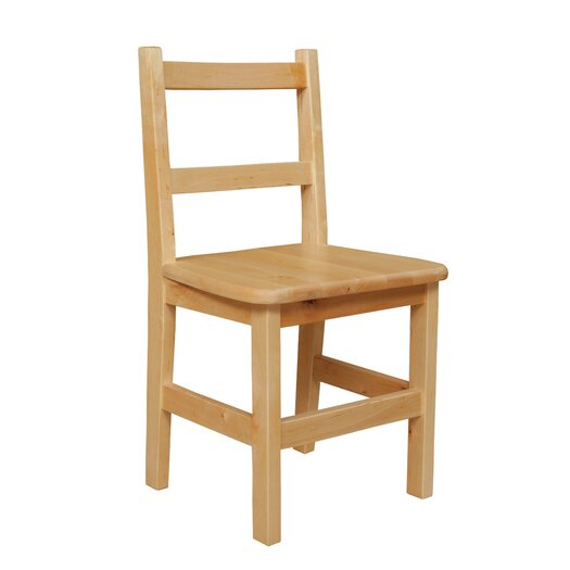 """Wood Designs 14"""" Wood Classroom Glides Chair"""