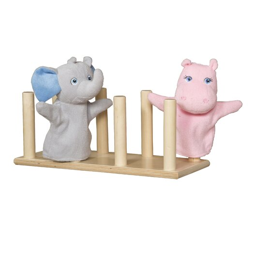 Wood Designs Puppet Holder
