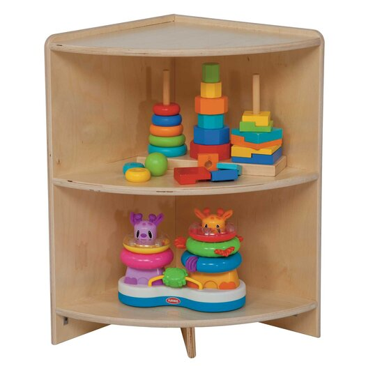 Wood Designs High Corner Shelf Cabinet